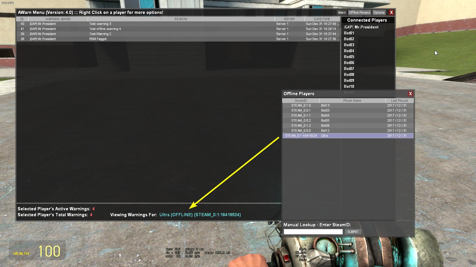 Awarn2 - Warning Module
