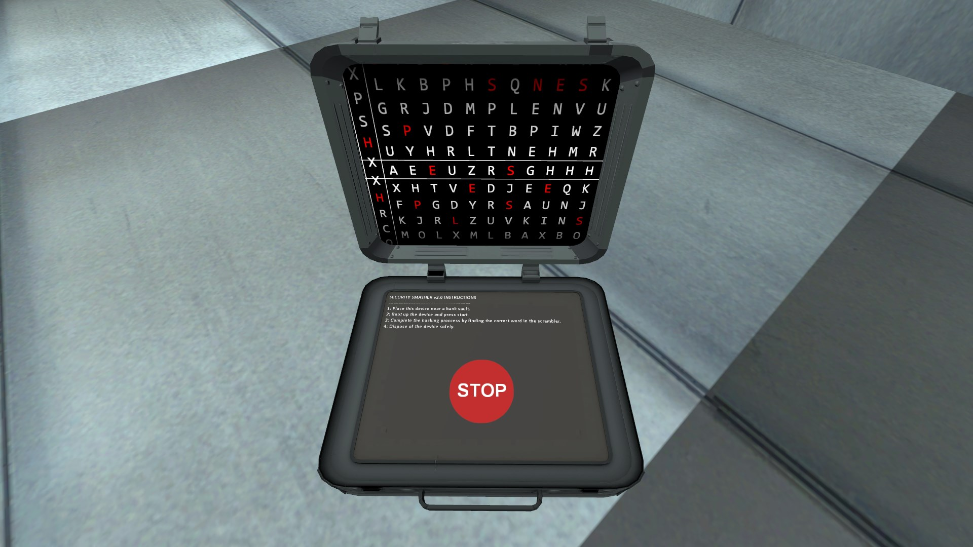 Hacking minigame preview