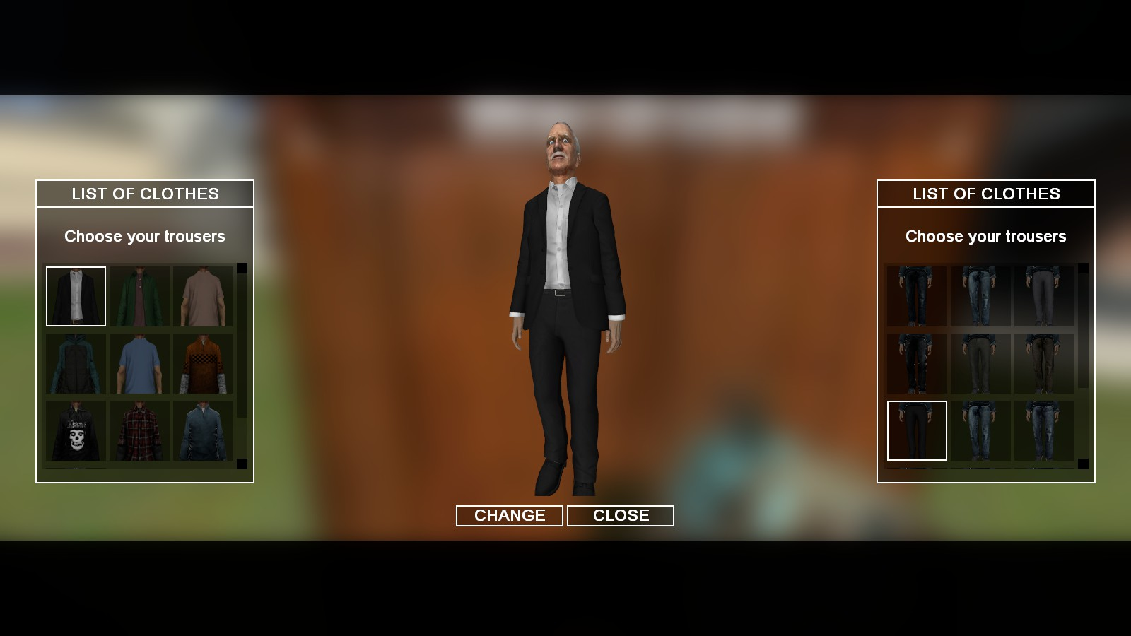 Character & Clothes - T-shirt customizable & realistic clothes system
