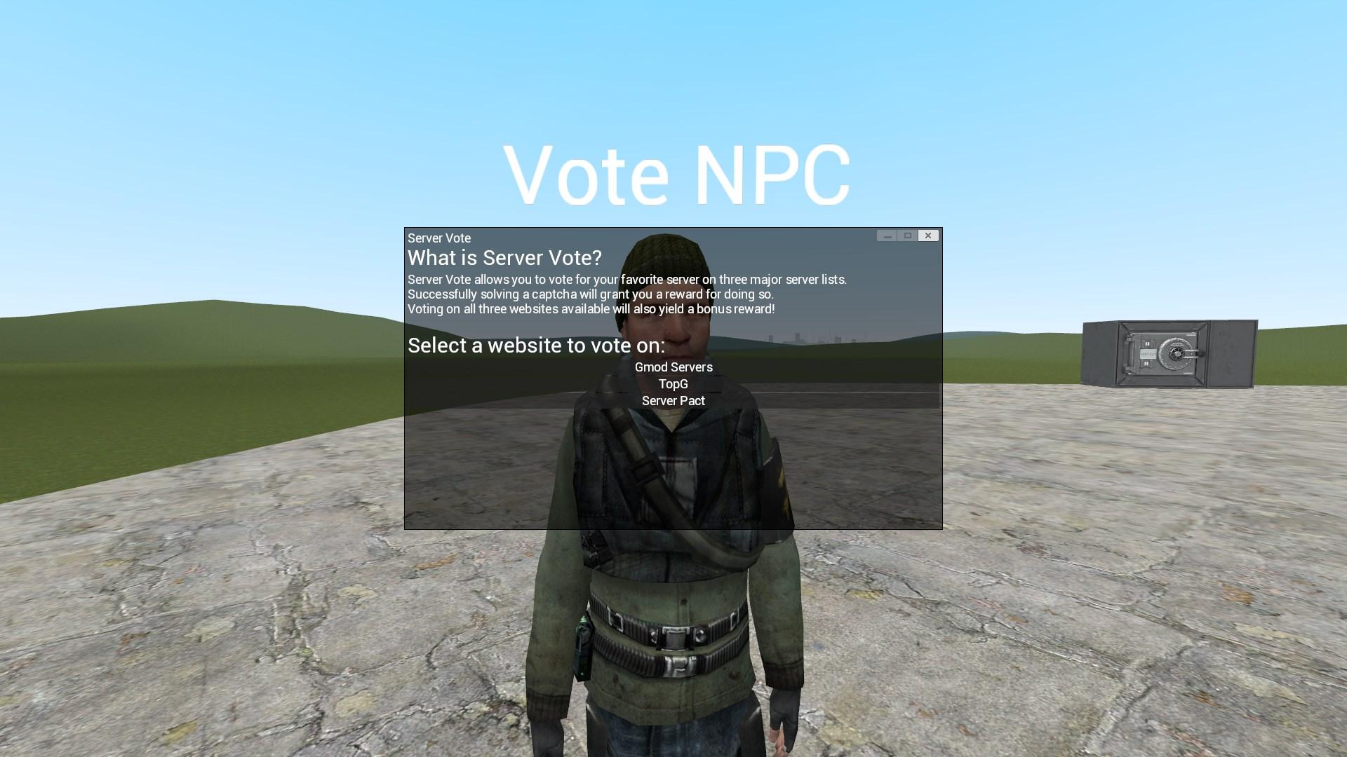 Server Vote