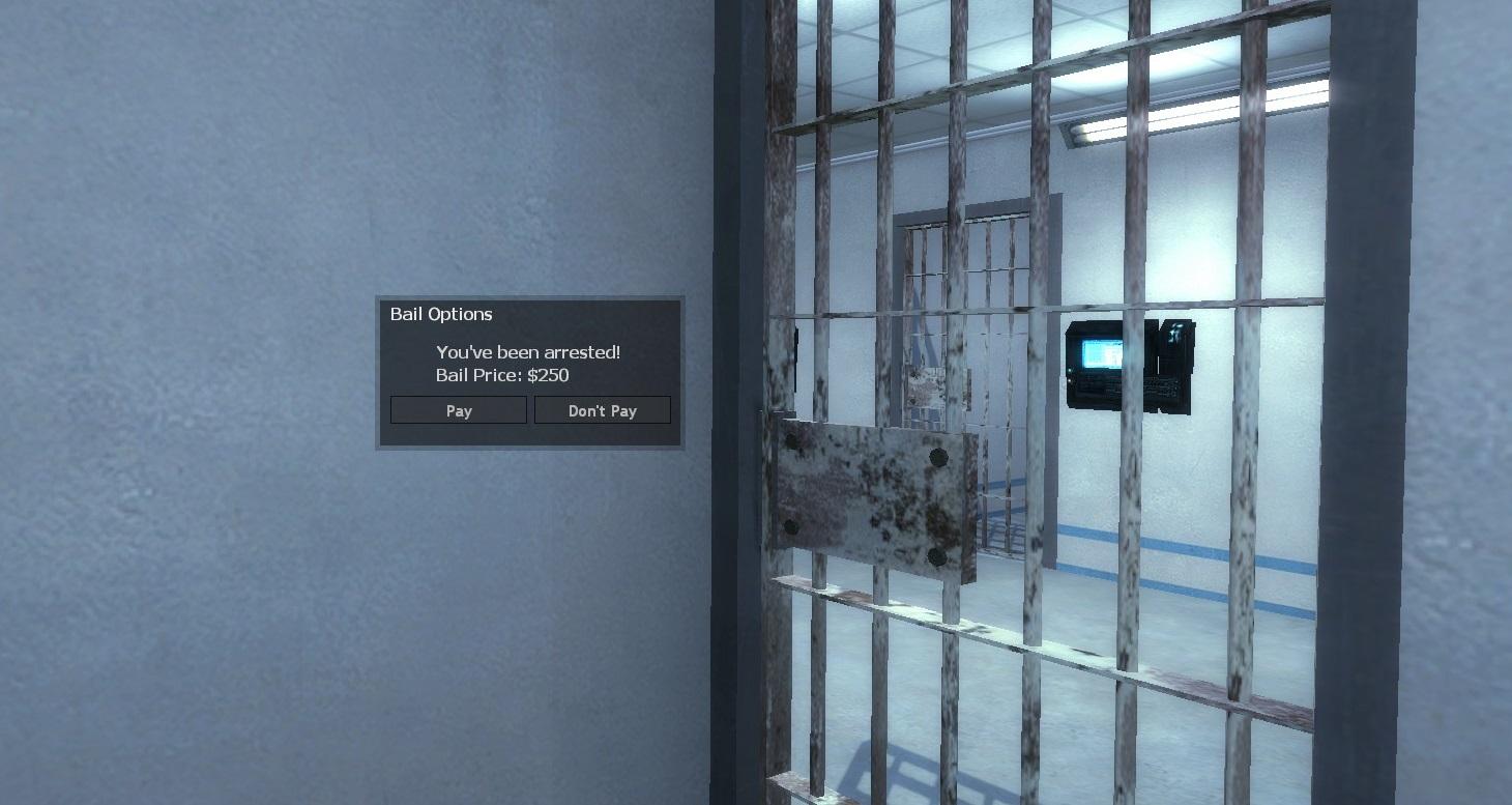 DarkRP Advanced Arresting w  Bail System